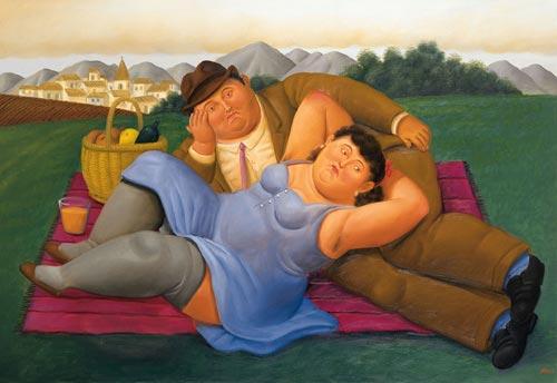 imagen de botero terapia de pareja